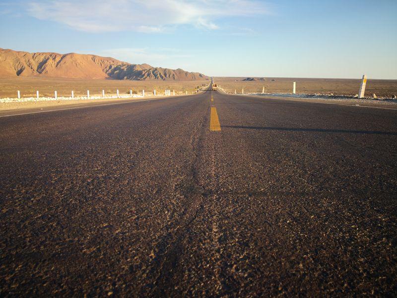 Straße nach Nazca