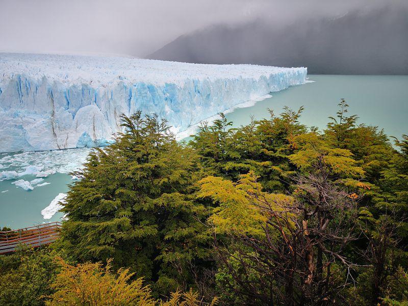Perito Moreno Gletscher vom nächsten Aussichtspunkt
