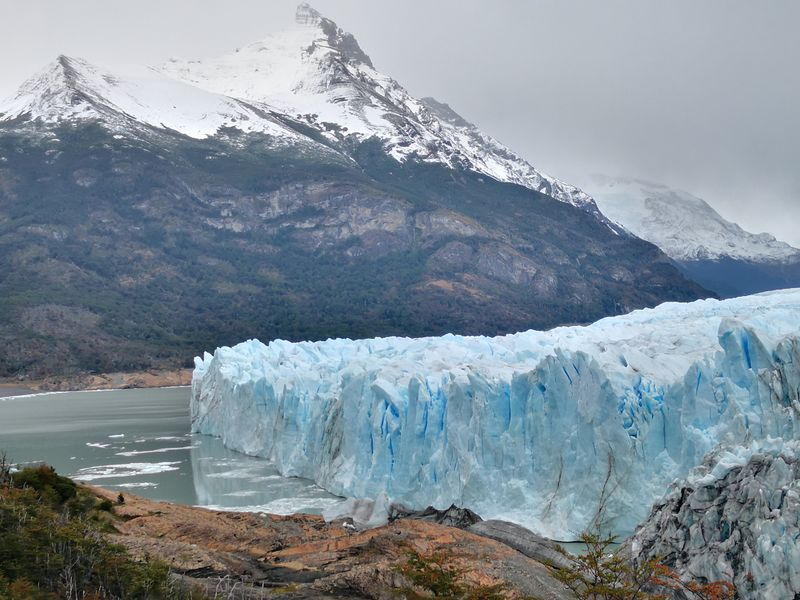Blick auf die andere Seite des Gletschers