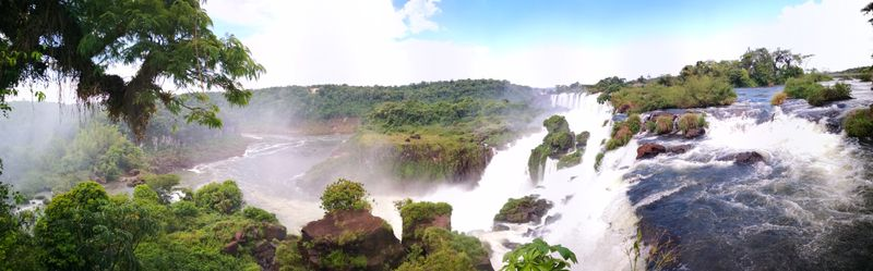 Panorama mitten im Dschungel