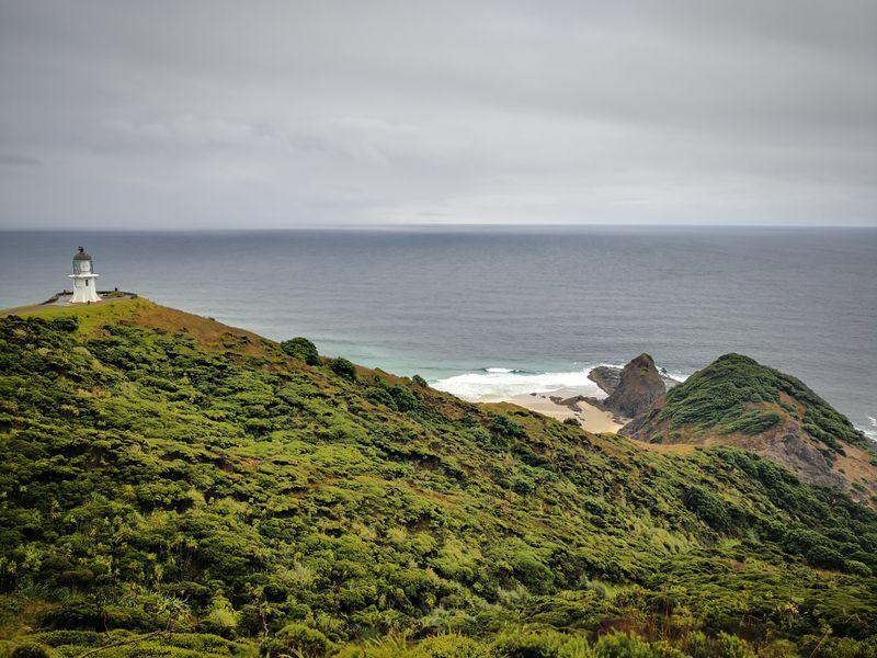 Cape Reinga bei Schlechtwetter